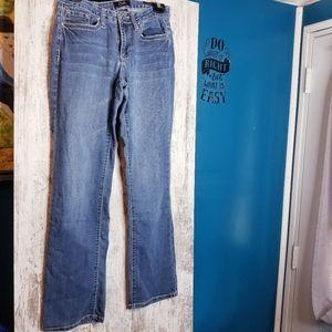 Earl Slim Boot Jewel Embellished Blue Jean